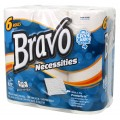 BRAVO Necessities 2-Ply Paper Towel 6-Pack