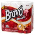 BRAVO Ultimate Premium Paper Towel 6-Pack