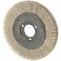 "Crimped Stainless Steel Wire Wheel 6"" x 0.14 x 1-1/4'"