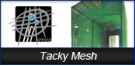 Tacky Mesh Airborn Particulate Control
