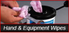 Hand & Equipment Wipes